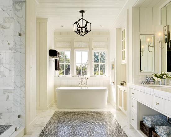 18 Luxury Farmhouse Bathroom Design Ideas