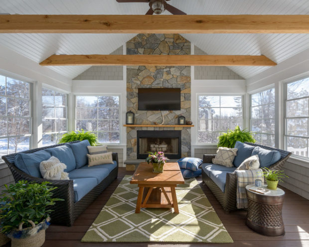 17 Amazing Sunroom Design Ideas To Inspire Your Spring Decor ...