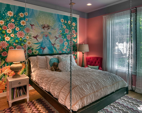 17 Great Ideas for Hanging Beds to Add Fun to Your Space