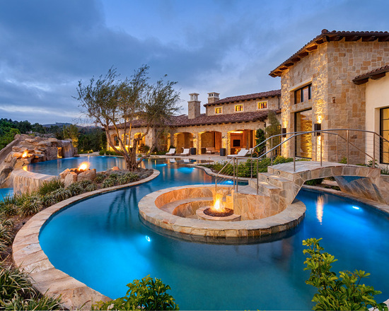 18 Design Ideas for Beautiful Swimming Pools (Part 2)