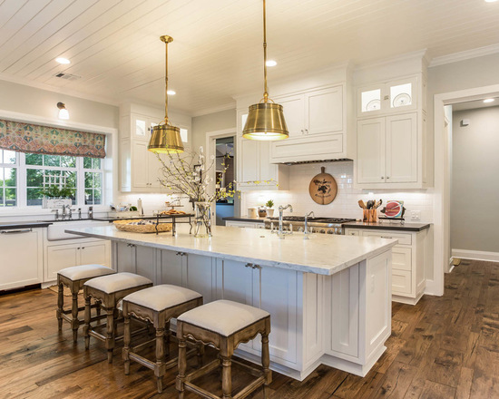 Farmhouse Kitchen Design Ideas hardwood floor kitchen style 20 Stunning Farmhouse Kitchen Design Ideas