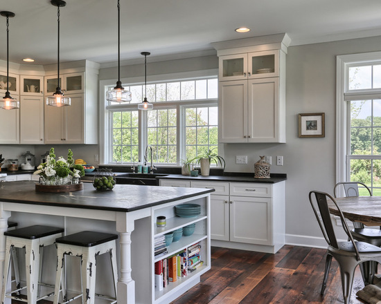 20 Stunning Farmhouse Kitchen Design Ideas Part 42