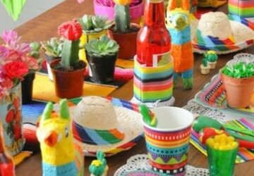 Recipes and Crafts: 17 Ideas how to Celebrate Cinco de Mayo - diy recipes, diy party crafts, Cinco de Mayo recipes, Cinco de Mayo diy ideas, Cinco de Mayo, Celebrate Cinco de Mayo