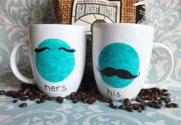 14 Cute Sharpie Crafts and DIY Project - Sharpie DIY ideas, Sharpie Crafts and DIY, Sharpie Crafts, Sharpie, DIY Decorating Ideas, diy decor, crafts