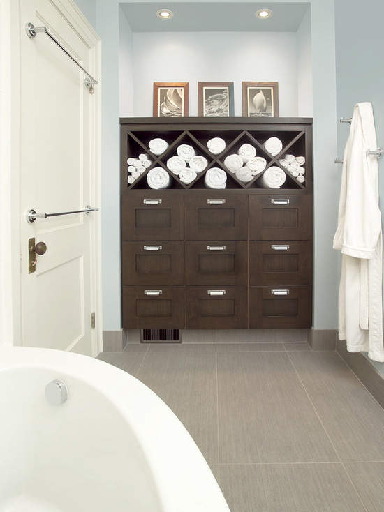 Elegant Built In Bathroom Storage In Your Bathroom Design
