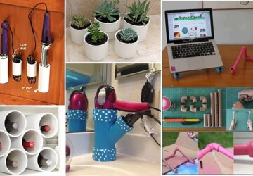 15 Awesome DIY Projects Using PVC Pipe - PVC Pipe, PVC, DIY PVC Pipe, DIY Projects Using PVC Pipe, diy projects