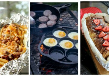 16 Easy Recipes and Ideas for Your Next Camping Trip - travel, recipes, Hiking, camping recipes, Camping