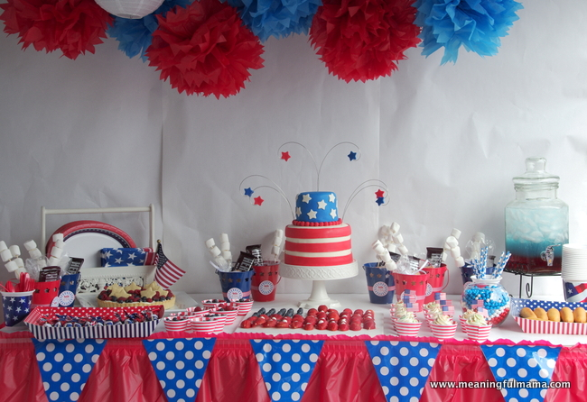 20 patriotic diy 4th of july party ideas style motivation for Decoration 4 july