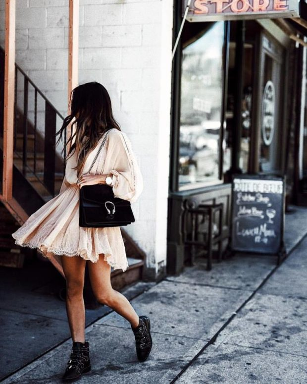 16 Pretty Summer Outfit Ideas with Mini Dresses