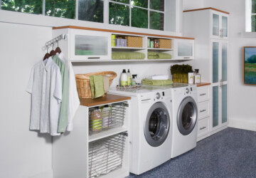 15 Awesome Laundry Room Designs That Are Going To Inspire You - washing machine, traditional, room, modern, Laundry Room, Laundry, interior design, interior, ideas, designs, contemporary, clothes