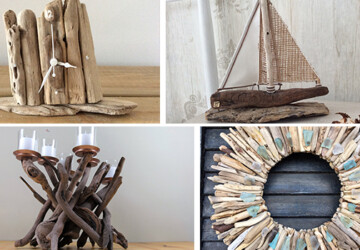 15 Crazy Handmade Driftwood Decorations That You Can Craft For No Cost At All - wreath, Upcycle, shelves, recycle, rack, ideas, handmade, driftwood, diy, decorations, decor