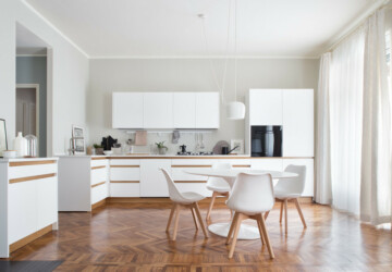 15 Stunning Scandinavian Kitchen Designs You Can't Miss Out On - White, simple, scandinavian, Scandi, modern, minimalist, minimalism, mid century, luxury, kitchen, interior, functional, contemporary, Black, apartment