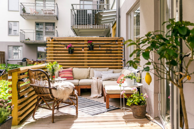 16 Astounding Scandi Patio And Terrace Designs That You ... on Terrace Patio Ideas id=58422