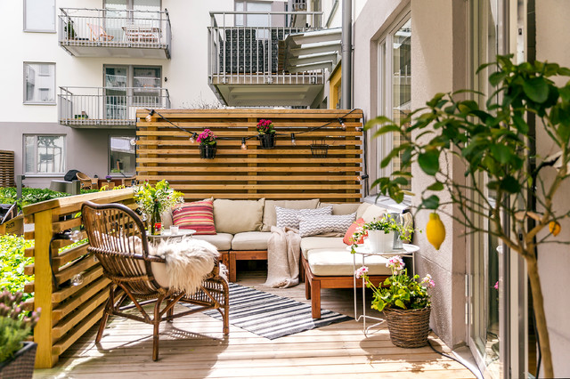 16 Astounding Scandi Patio And Terrace Designs That You