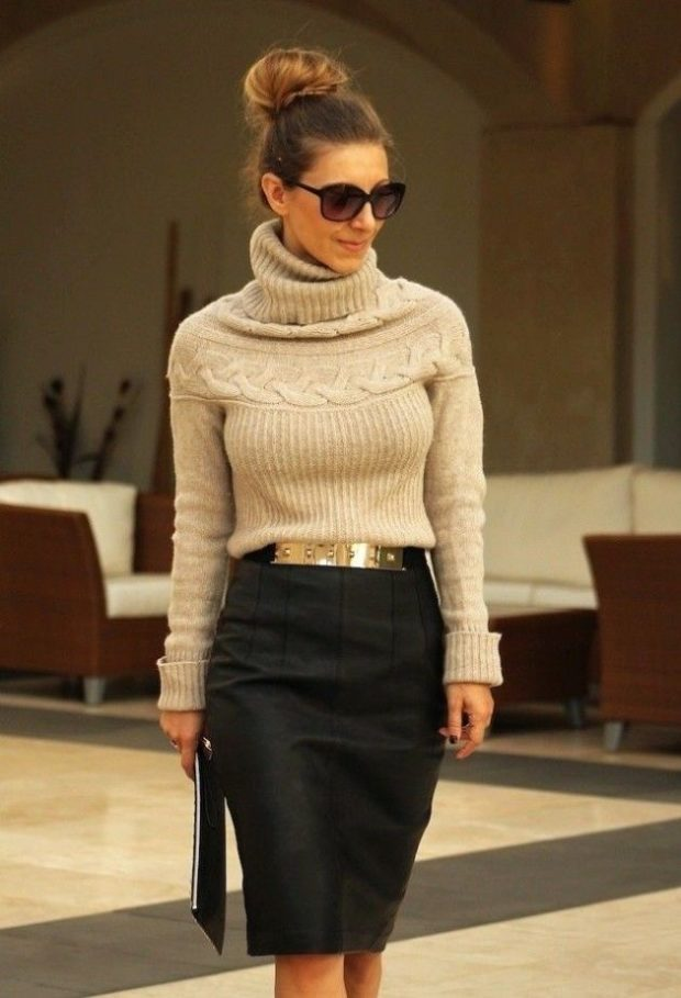 10 Elegant Pencil Skirts For Professional Look - woman, Trend, skirt, pencil skirt, floral, fashion