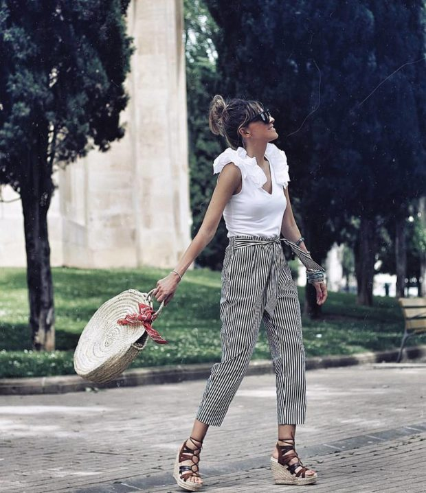15 Summer Outfit Ideas With Pants, for When Its Too Hot to Wear Jeans