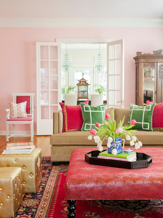 colorful preppy home 17 living room design and decor ideas - Preppy Home Decor