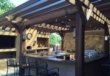 Building an Outdoor Kitchen - Top 6 Planning Considerations - timing, practicality, outdoor kitchen, maintenance, luxuries, features, cost
