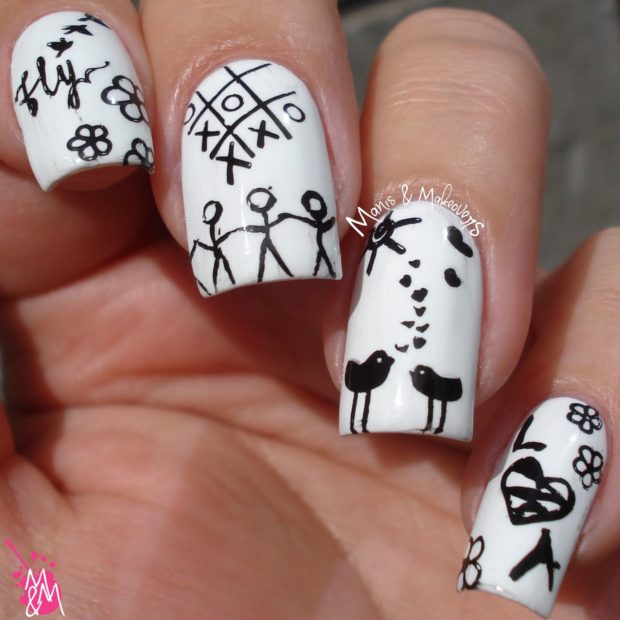Paper Nails: Creative and Fun Nail Art Ideas for Summer - Paper Nails: Creative And Fun Nail Art Ideas For Summer - Style