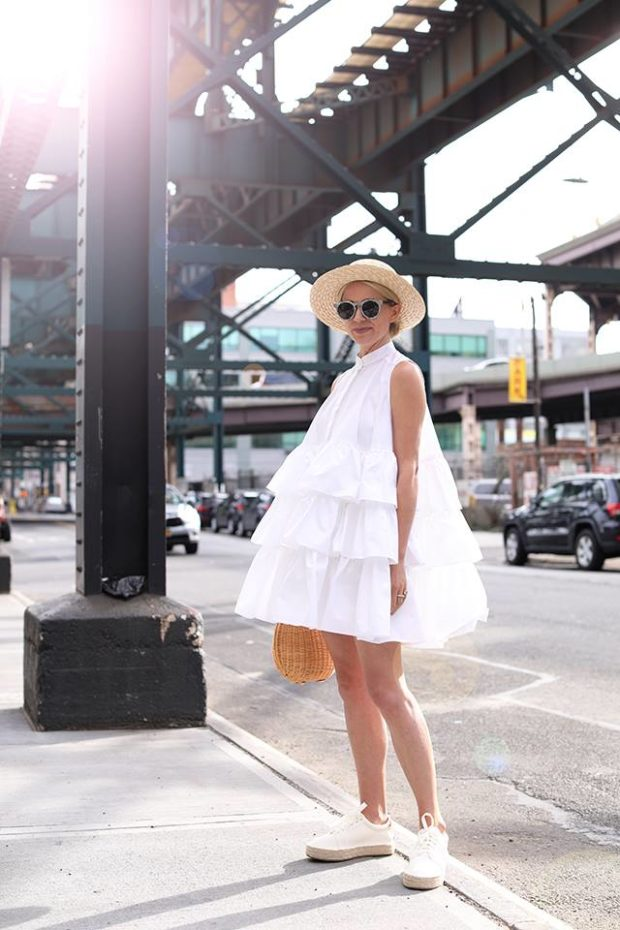 Summer Looks 15 White Dress Outfit Ideas