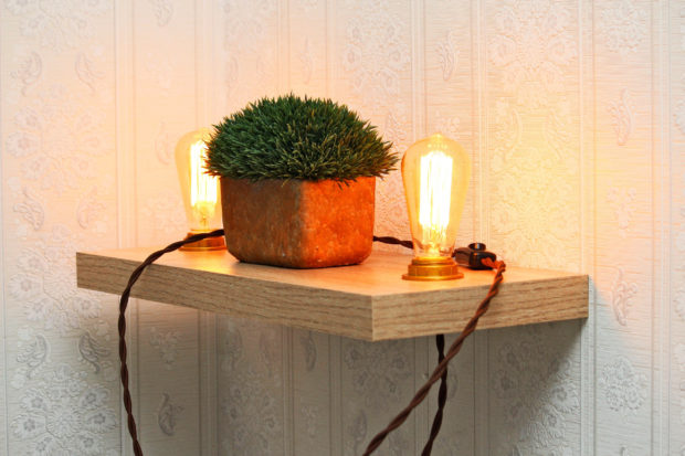 15 Crafty Handmade Lamp Designs That You Can DIY