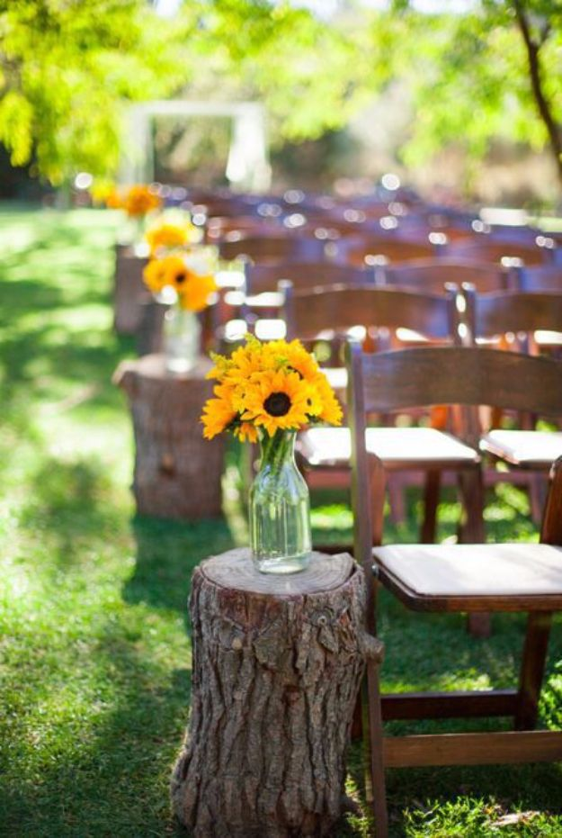 15 creative diy ideas for an outdoor summer wedding ForDiy Wedding Ideas For Summer