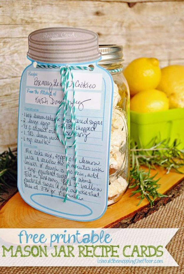 photo regarding Free Printable Mason Jar Template referred to as 15 Magnificent No cost Printables And Templates In direction of Spice Up Your