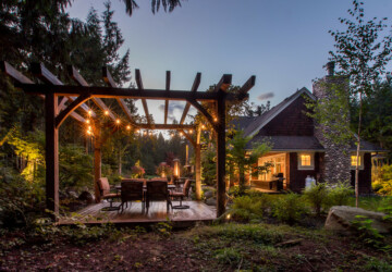 15 Sensational Rustic Backyard Designs That Will Make You Want Them - yard, rustic, patio, outside, outdoors, landscape, ideas, home, garden, decor, deck, backyard