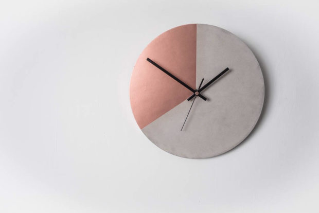 16 Chic Handmade Wall Clock Designs That Make Great Diy