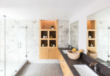 16 Fabulous Modern Bathroom Designs You're Going To Love - shower, room, modern, minimalist, luxury, interior, bathroom, bath