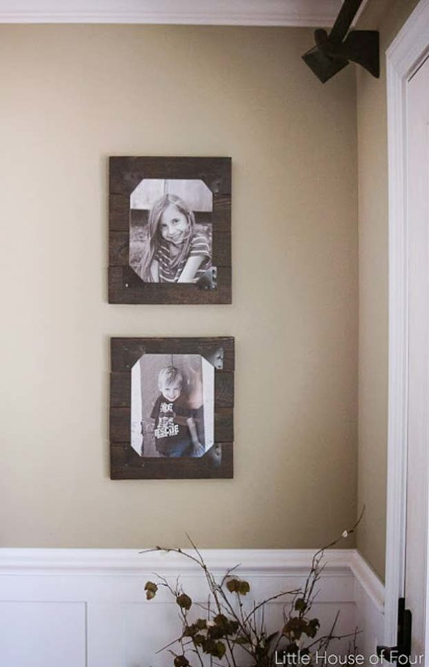 16 Nifty DIY Picture Frame Projects You Should Try - Style Motivation