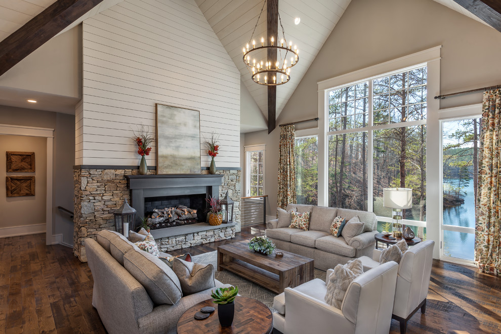 17 Stunning Rustic Living Room Interior Designs For Your ...