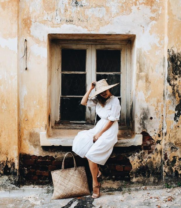 The Stylish Summer Wicker Bag Everyone Should Own  15 Ideas How to Style It (Part 1)