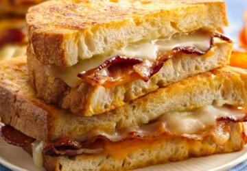 16 Tasty Grilled Cheese Recipes That Are Totally Easy to Make - grilled cheese recipes, grilled cheese, breakfast recipes