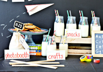 Back to School- Great DIY Party and Celebration Ideas (Part 2) - diy party decorations, diy party, Back to school