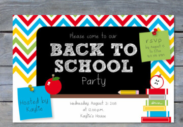 Back to School- Great DIY Party and Celebration Ideas (Part 1) - diy party decorations, diy party, back to school diy ideas, Back to school