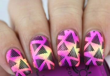 Creative Neon Nail Art ideas Perfect for Summer - summer neon nail art ideas, summer nail design, summer nail art, neon summer nail art, neon nails, neon nail art