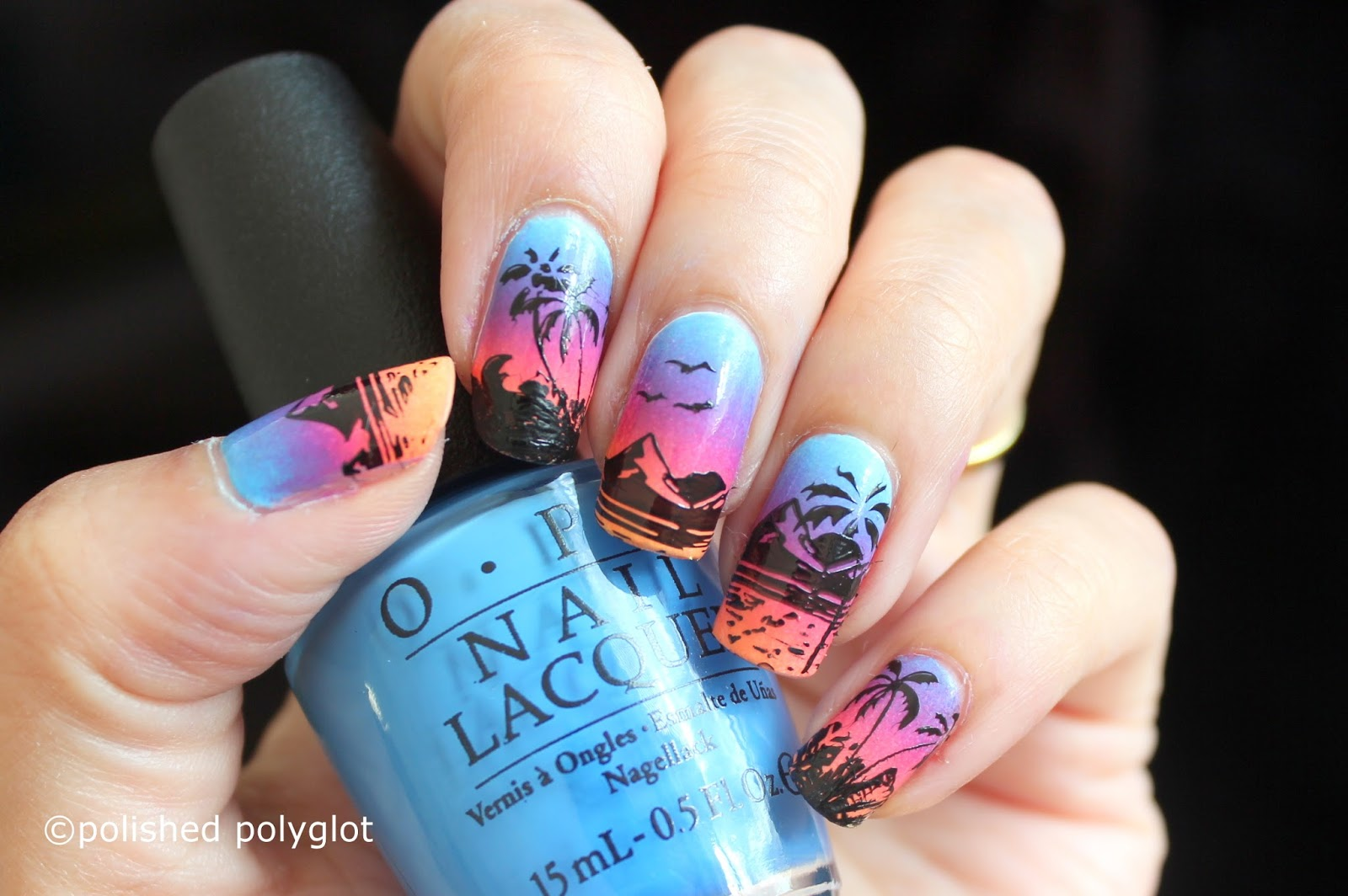 17 Tropical Nail Art Ideas Inspired By Beach Style Motivation