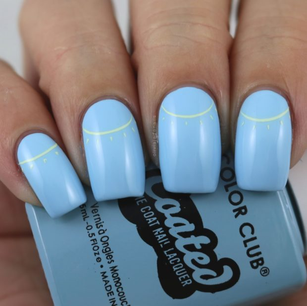 15 Cheerful Sunshine Nail Art Ideas - 15 Cheerful Sunshine Nail Art Ideas - Style Motivation