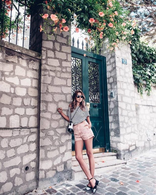 15 Casual Everyday Looks for Summer Days - summer street style, summer outfit ideas, summer look, casual summer outfit