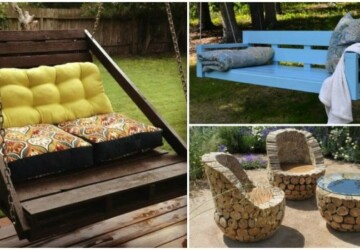 18 Amazing DIY Backyard Furniture Ideas - outdoor furniture, diy outdoor furniture, diy outdoor, diy furniture makeover, diy furniture, backyard design