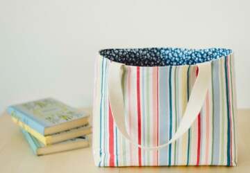 15 Creative DIY Tote Bags To Create At Home - totes, tote, DIY Tote Bags, DIY bags, Diy bag