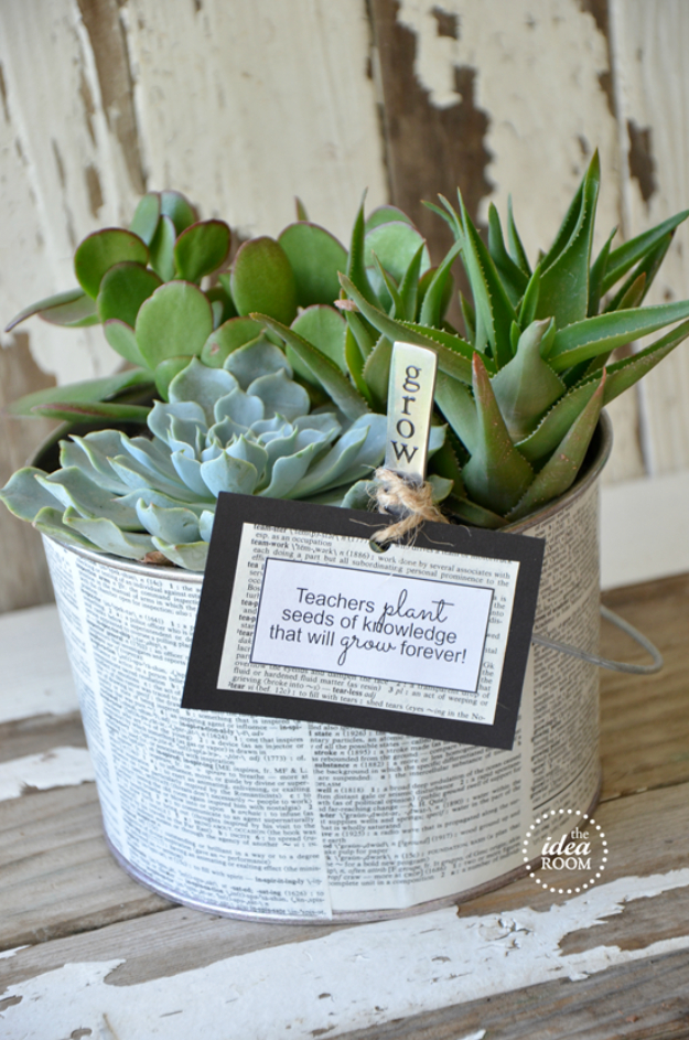 15 Beautiful DIY Gifts For Teacher Appreciation Day ...