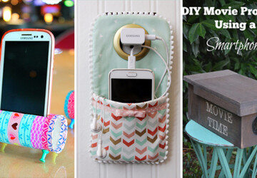 15 Clever DIY Ideas And Hacks For Your Smartphone - smartphone, samsung, Projects, phone, iPhone, ideas, hacks, DIY ideas, diy, crafts, charger, cellphone, cell phone