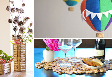 15 Cool DIY Ideas That You Can Make With Wine Corks - wine corks, wine cork, wine, ideas, handmade, hacks, diy, decorations, decor, crafts, corks, cork