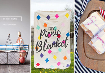 15 Cool DIY Ideas You Should Try For Your Next Picnic - picnic basket, picnic, nature, mason jar, jar, ideas, food, diy, crafts, crafting, basket