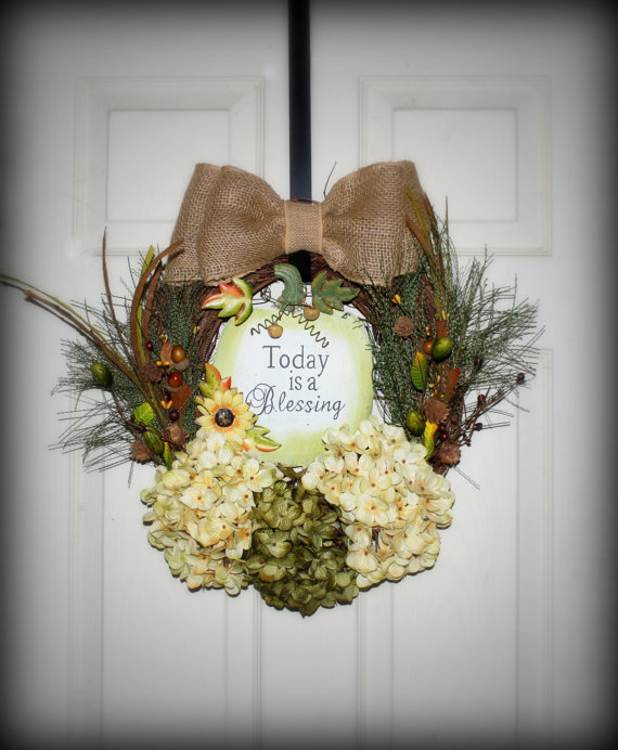 15 Fantastic Handmade Fall Wreath Designs That Will Bring Color To Your Front Door