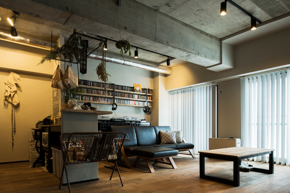 15 Spectacular Industrial Living Room Designs That Will