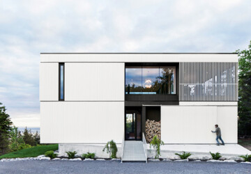 15 Stunning Modern Home Designs That You Will Fall In Love With - modern house, modern home, modern exterior, modern, minimalist, luxury, house, home, facade, exterior