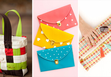 15 Super Cool DIY Purse Ideas You Can Craft For A Unique Look - tote, sew, purse, pouch, no sew, envelope, diy, crafts, crafting, craft, coin purse, clutch, bag
